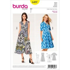 burda mönster 6497