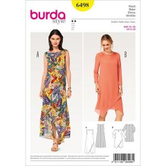 burda mönster 6498
