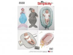 Simplicity 8568 OS (ONE SIZE)